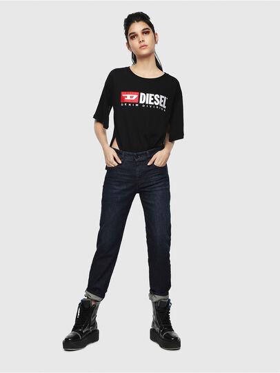 Diesel - D-Rifty 080AK, Dark Blue - Jeans - Image 4