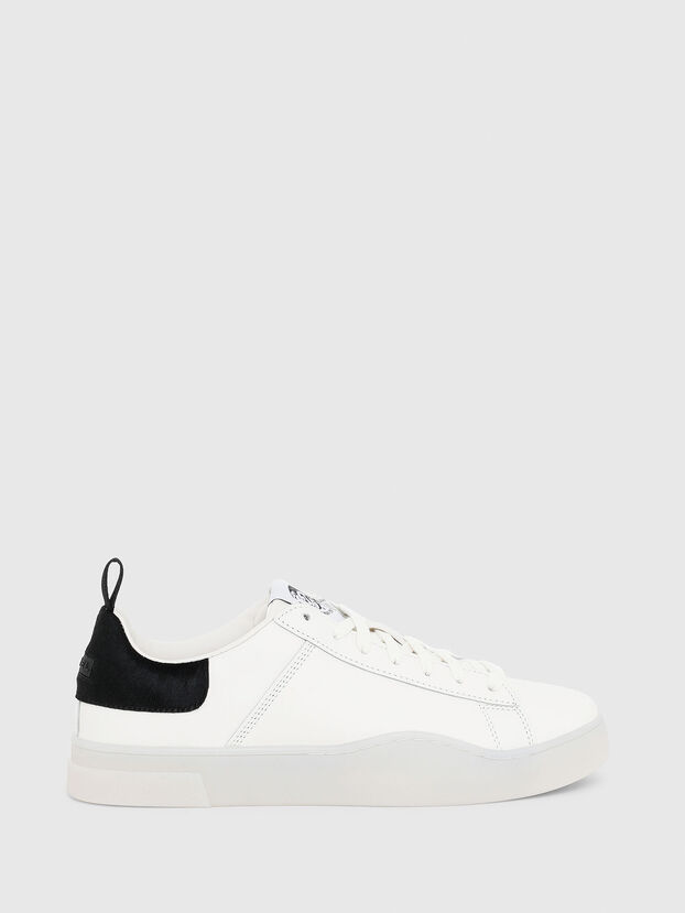 S-CLEVER LOW LACE, White/Black - Sneakers