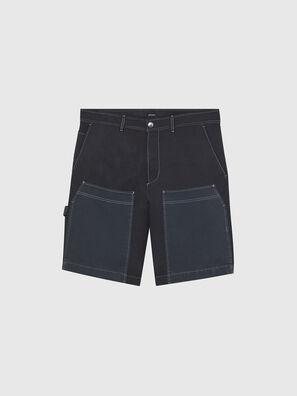 P-TRENT-SHORT, Black/Blue - Shorts