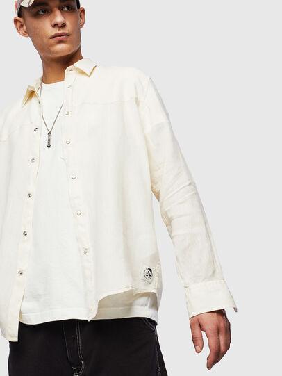 Diesel - S-PLAN-B, White - Shirts - Image 4