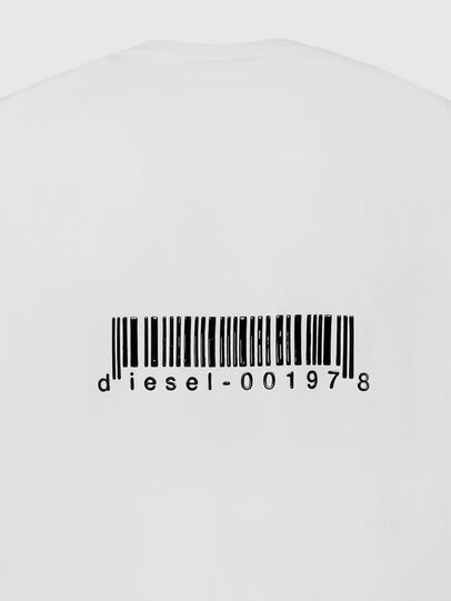 Diesel - T-JUST-LS-X90, White - T-Shirts - Image 4