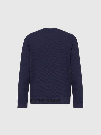 Diesel - S-PEWTER, Dark Blue - Sweaters - Image 2