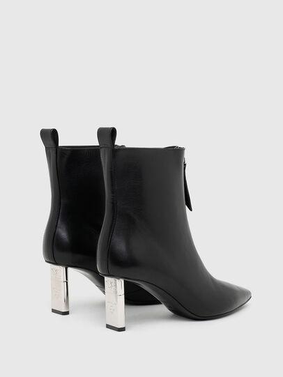 Diesel - D-LEZIPPO MAB, Black/Silver - Ankle Boots - Image 3
