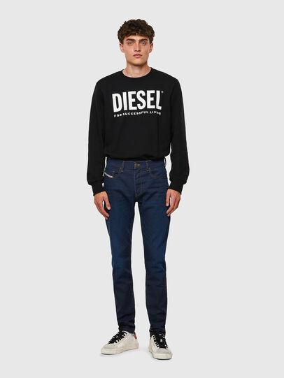 Diesel - D-Strukt JoggJeans® Z69VZ, Dark Blue - Jeans - Image 5