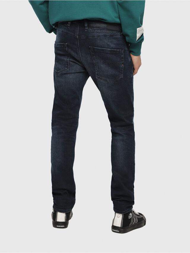 Sidste nye BELTHER 087AS Men: Tapered Dark blue Jeans | Diesel ZZ-83