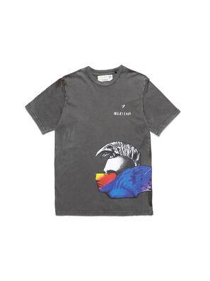 D-5055-G, Black - T-Shirts