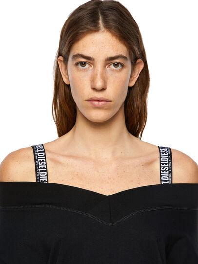 Diesel - D-WORKIE, Black - Dresses - Image 4