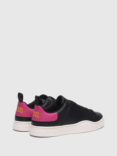 Diesel - S-CLEVER LOW LACE W, Black/Pink - Sneakers - Image 3