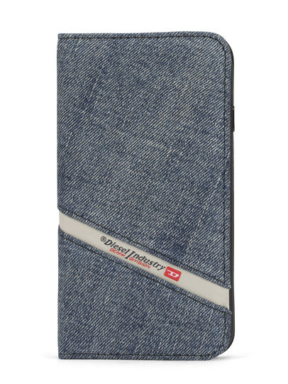 Diesel - DENIM IPHONE 8 PLUS/7 PLUS FOLIO,  - Flip covers - Image 1