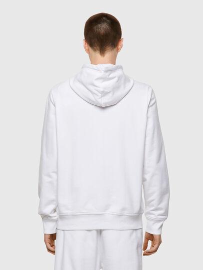 Diesel - S-GIRK-HOOD-ZIP-ECOL, White - Sweaters - Image 2
