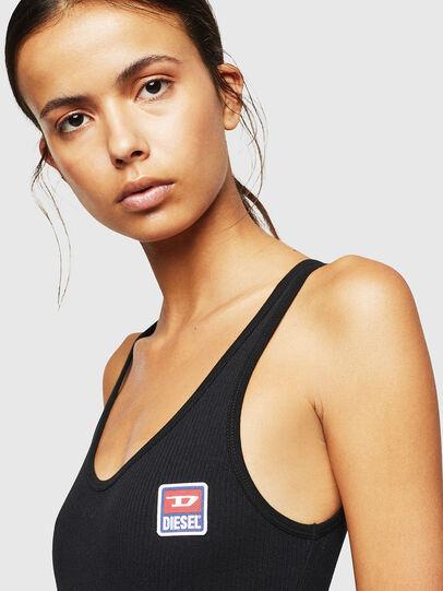Diesel - UFBY-BODYTANK-C, Black - Bodysuits - Image 3