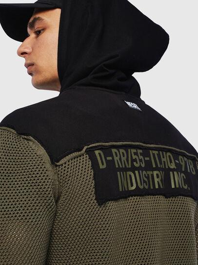 Diesel - K-CONNET, Green/Black - Knitwear - Image 3