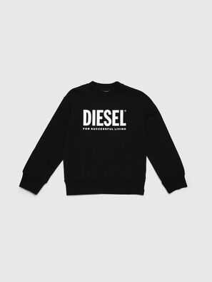 SCREWDIVISION-LOGO O, Black - Sweaters