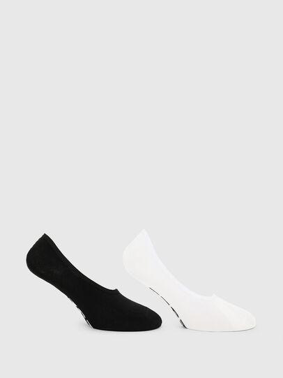 Diesel - SKM-HIDEPAT-TWOPACK, Black/White - Socks - Image 1