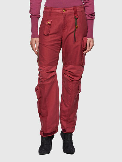 Diesel - P-GIULIA, Pink - Pants - Image 1