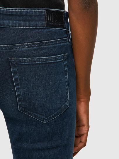 Diesel - Slandy Low 009QF, Dark Blue - Jeans - Image 3