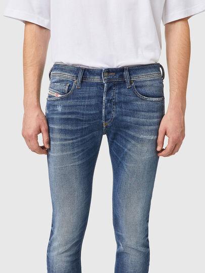 Diesel - Sleenker 09A86, Light Blue - Jeans - Image 3