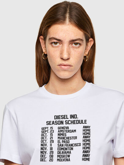 Diesel - T-DIEGOS-A11, White - T-Shirts - Image 3