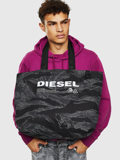 Diesel - D-THISBAG SHOP M,  - Shopping and Shoulder Bags - Image 8