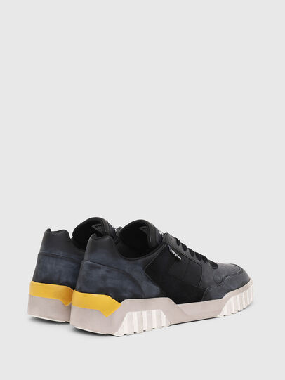 Diesel - S-RUA LOW90, Blue/Black - Sneakers - Image 3