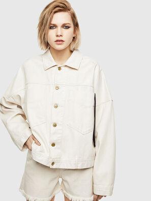 DE-JALA, White - Denim Jackets