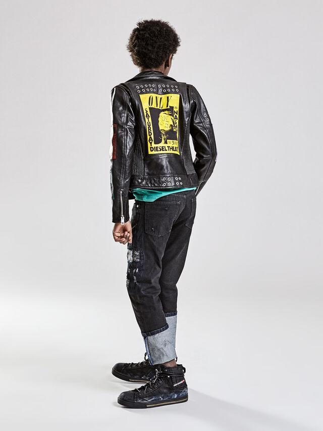 JLATHER, Black Leather