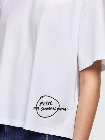 Diesel - T-BOWBOW, White - T-Shirts - Image 4