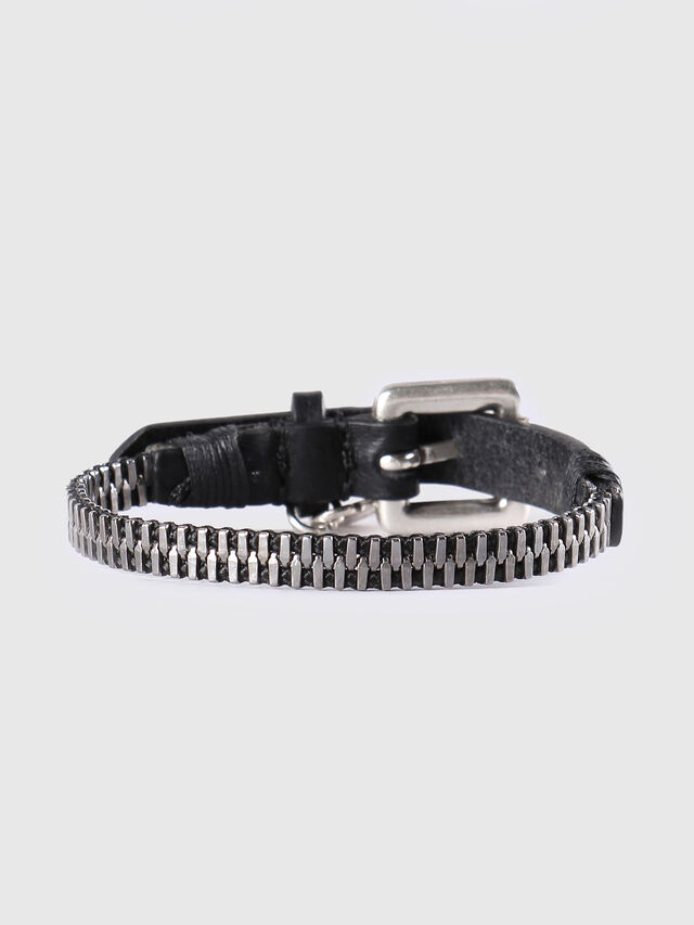 Diesel - A-ZIPPER, Black/Silver - Bijoux and Gadgets - Image 1