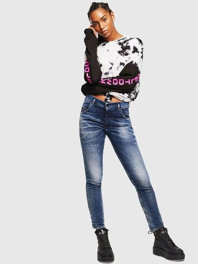 Diesel - Krailey JoggJeans 0096M, Dark Blue - Jeans - Image 5