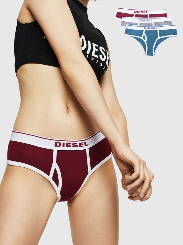 UFPN-OXY-THREEPACK, Multicolor/White - Panties