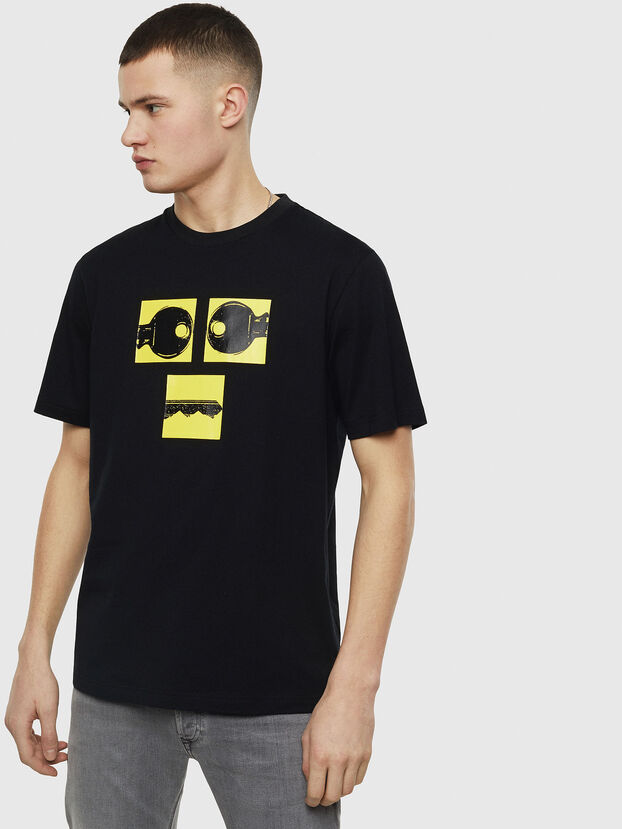 T-JUST-T23, Black - T-Shirts