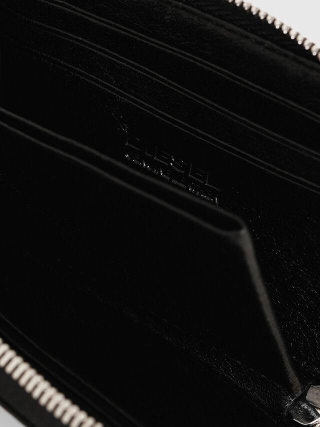 Diesel - L-PASSME, Black - Small Wallets - Image 4