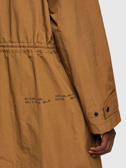 Diesel - J-LUI, Light Brown - Jackets - Image 4