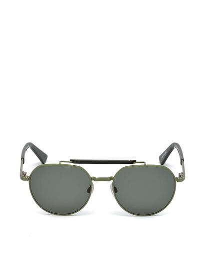 Diesel - DL0239, Military Green - Sunglasses - Image 1