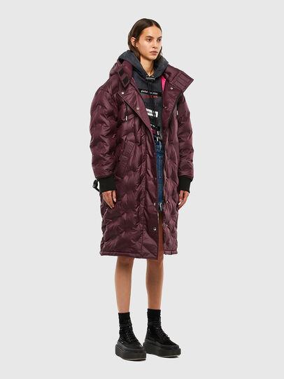 Diesel - W-LALLA, Violet - Winter Jackets - Image 5