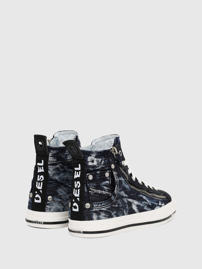Diesel - EXPO-ZIP W, Dark Blue - Sneakers - Image 3