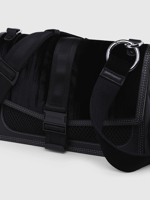 Diesel - MISS-MATCH CROSSBODY, Black/Pink - Crossbody Bags - Image 4
