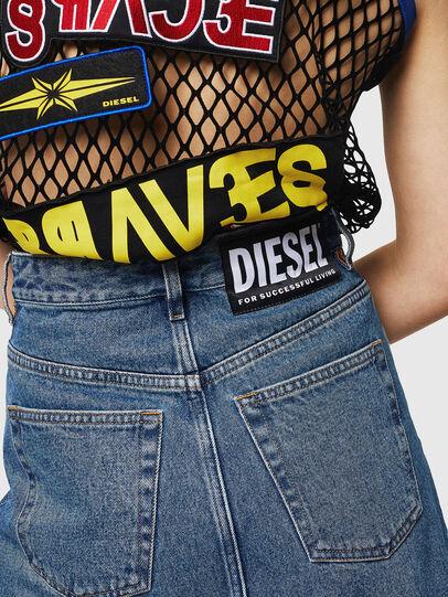 Diesel - DE-INGRID, Medium blue - Skirts - Image 4