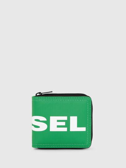 Diesel - ZIPPY HIRESH S, Green - Zip-Round Wallets - Image 1
