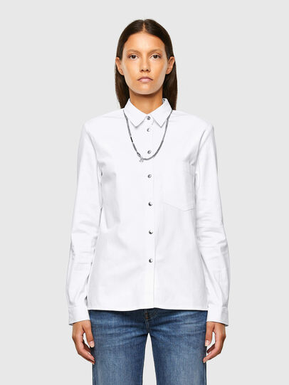 Diesel - C-RENELL, White - Shirts - Image 1