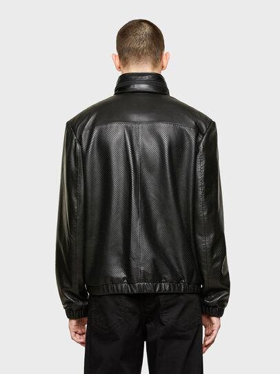 Diesel - L-NAME, Black - Leather jackets - Image 2
