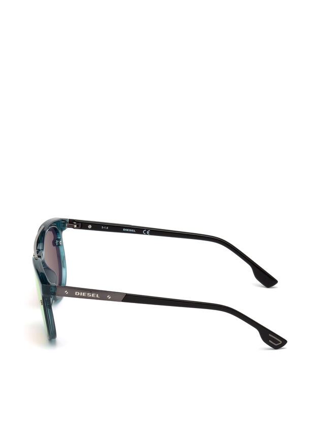 Diesel - DL0216, Blue/Orange - Eyewear - Image 3