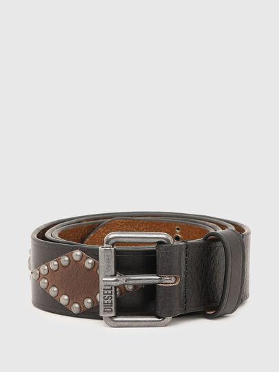 Diesel - B-ARREL, Black - Belts - Image 1