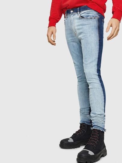 Diesel - D-Istort 085AU, Medium blue - Jeans - Image 1