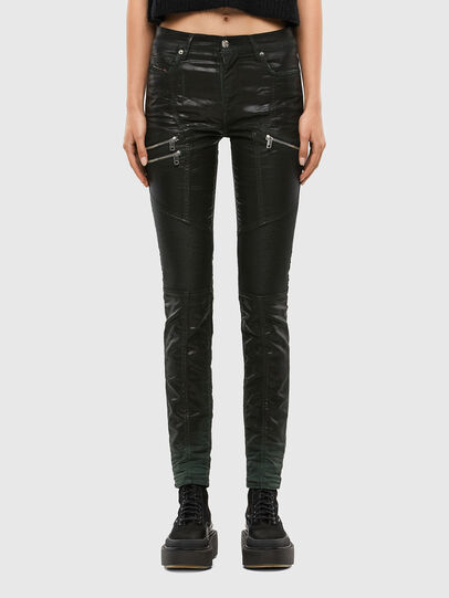 Diesel - D-Ollies JoggJeans® 069QQ, Black/Dark grey - Jeans - Image 1