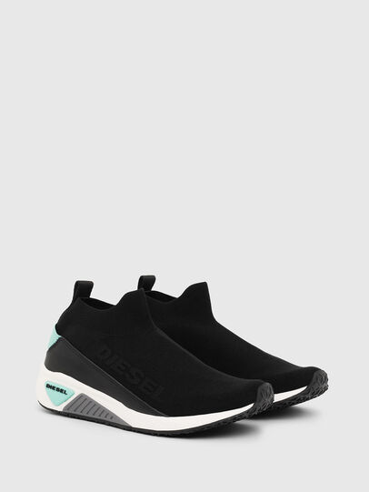 Diesel - S-KB SOCK QB W, Black - Sneakers - Image 2