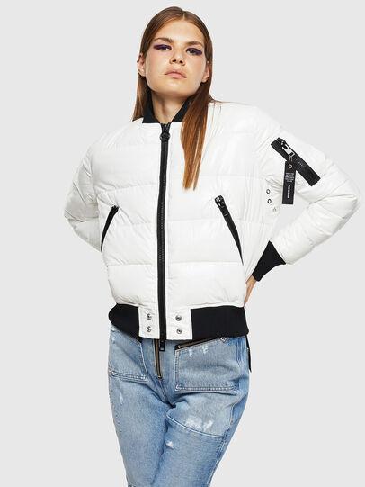 Diesel - W-ONY, White - Winter Jackets - Image 1