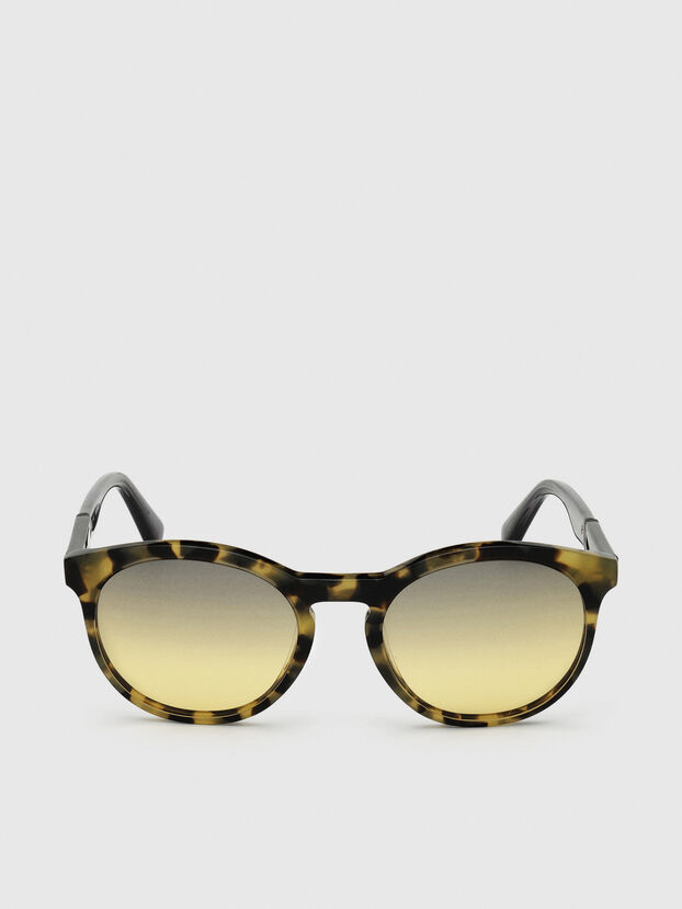 DL0310, Black/Yellow - Sunglasses