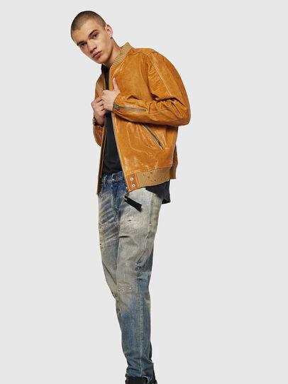 Diesel - L-DAVIDOV,  - Leather jackets - Image 4