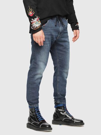 Diesel - Krooley JoggJeans 084UB, Medium blue - Jeans - Image 1